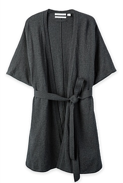Relaxed Organic Cotton Robe