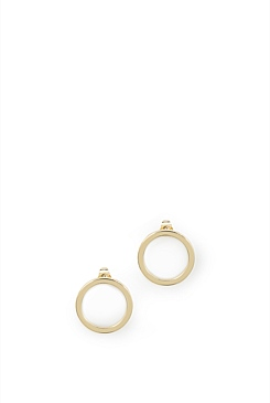 Gold Plated Hamilton Earrings
