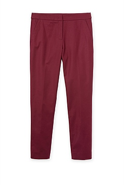 Cotton Stretch Tailored Trouser