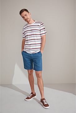 Combo Striped Cotton T-Shirt