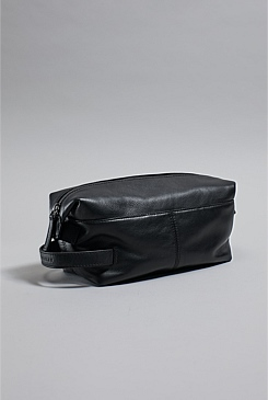 Marc Leather Wash Bag