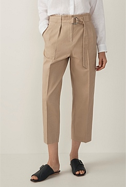 Peg Cotton Linen Pant