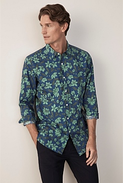 Evergreen Floral Shirt