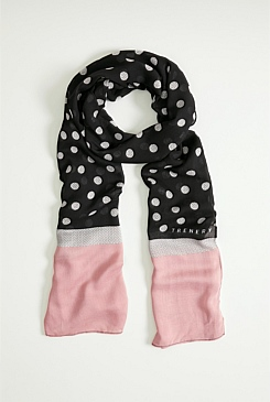 Suzanne Spot Scarf