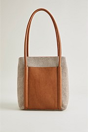 Mabelle Textured Non Leather Handbag