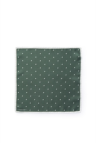 Mixed Spot Silk Pocket Square