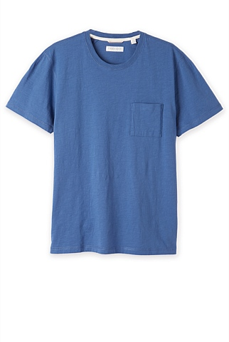 Slub Cotton Pocket T-Shirt
