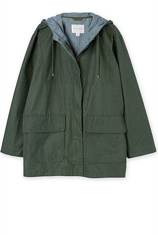 Coated Anorak
