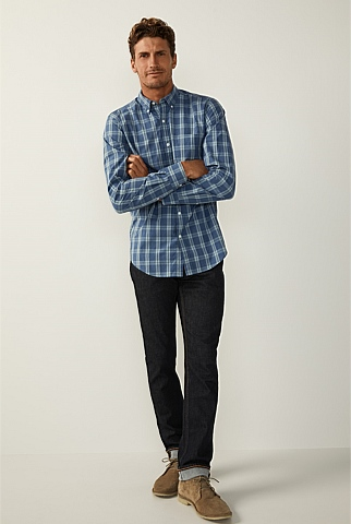 Double Check Cotton Shirt