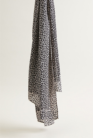Melissa Leopard Scarf