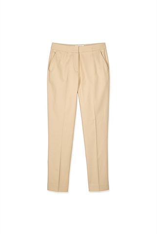 Stretch Cotton Tailored Trouser