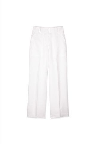 Linen High Waisted Trouser
