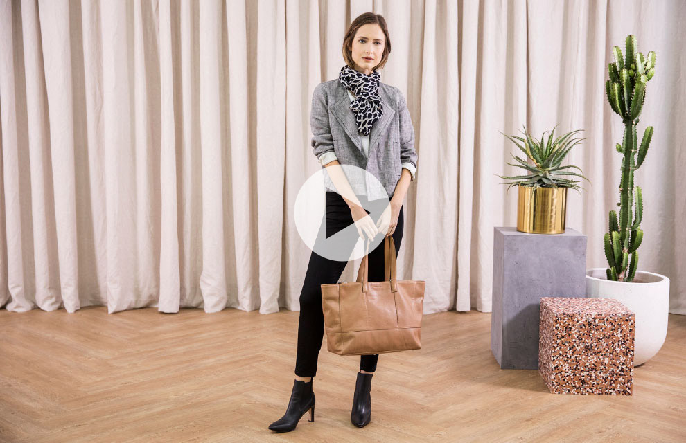 The Styling Studio - Two Ways To Wear The Sporty Draped Jacket