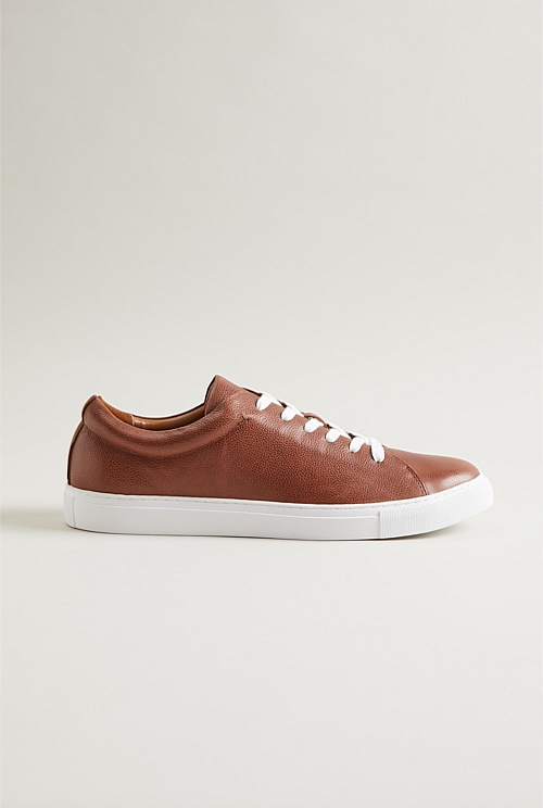 Trent Pebble Leather Sneaker